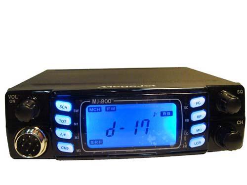 Megajet MJ-600 Turbo радиостанция СВ автомобильная.